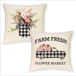 NEW FARMHOUSE PILLOW COVER SET